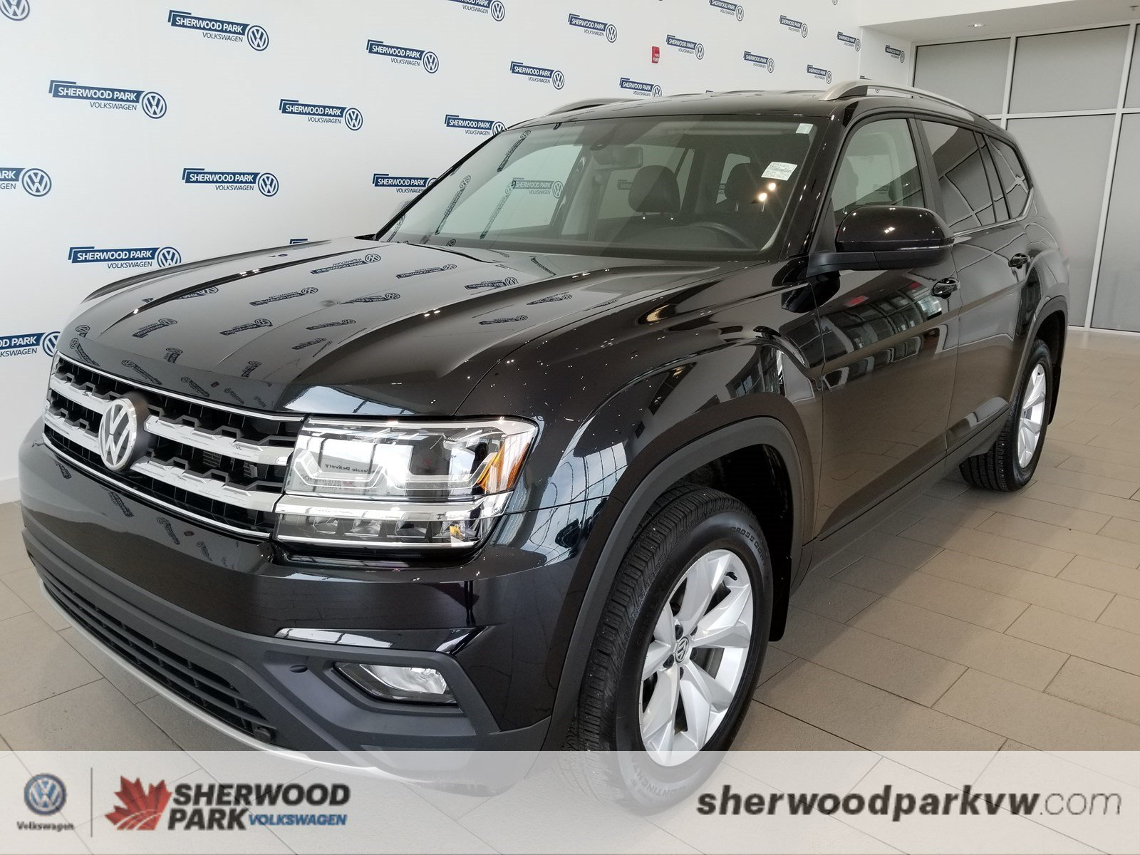 Certified Pre-Owned 2018 Volkswagen Atlas Comfortline