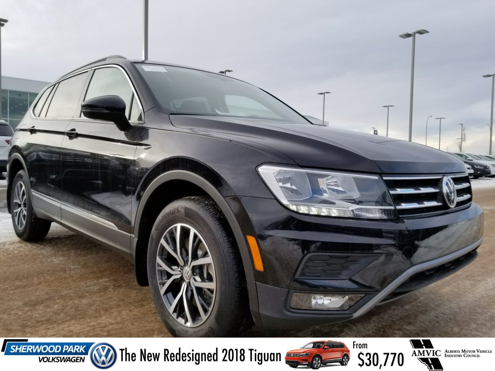 new 2018 volkswagen tiguan comfortline sport utility in sherwood park 18tg0159 sherwood park. Black Bedroom Furniture Sets. Home Design Ideas