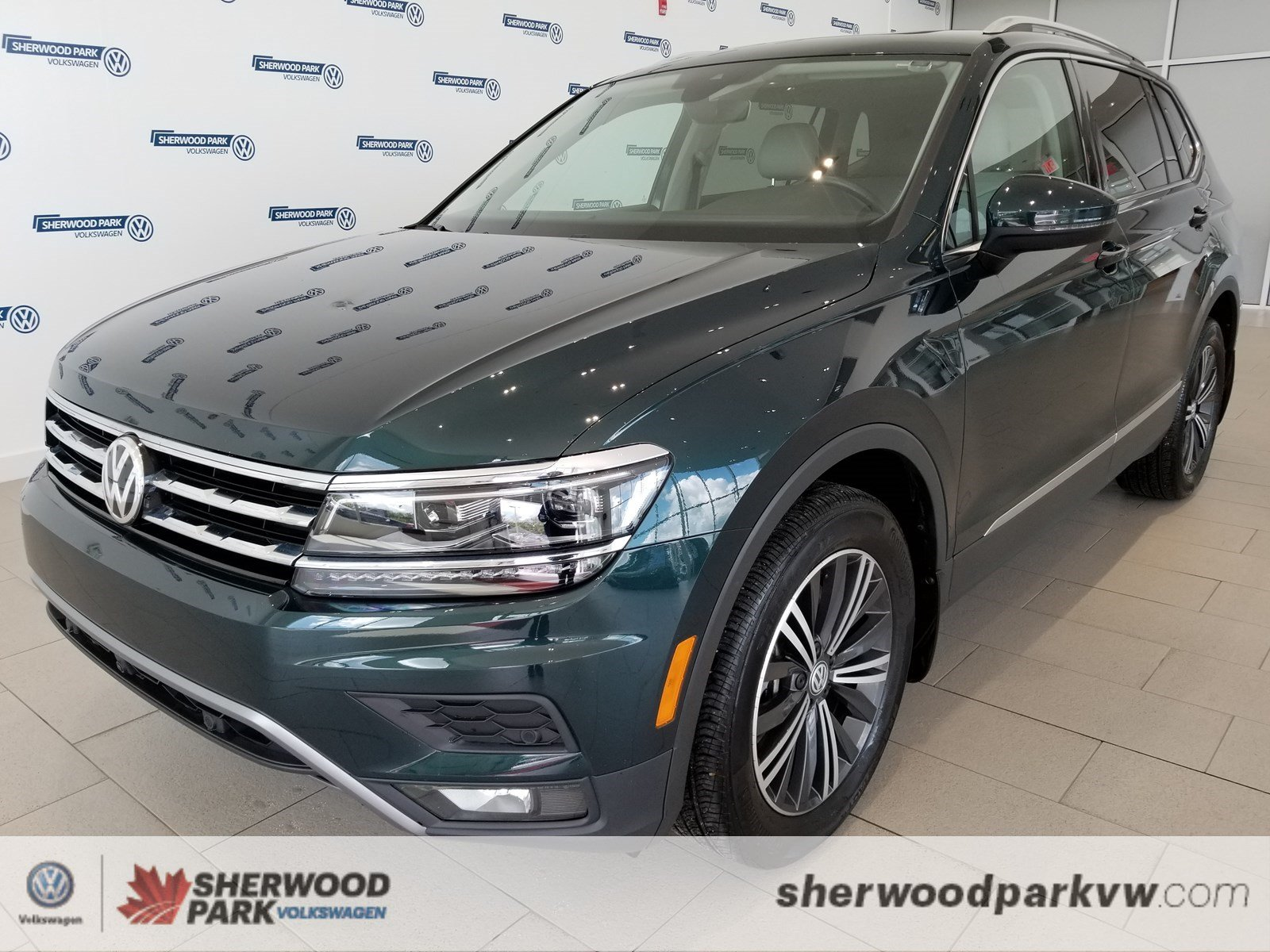 Certified Pre-Owned 2018 Volkswagen Tiguan Highline
