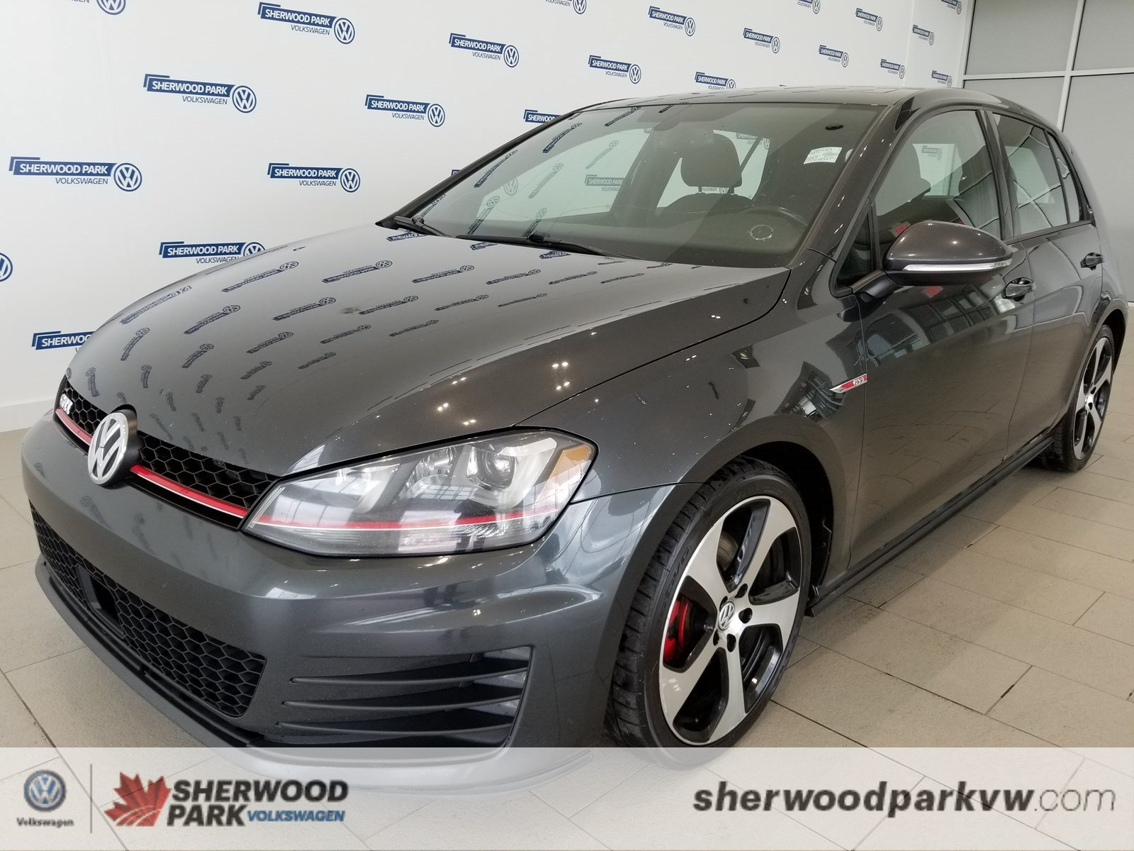 Certified Pre-Owned 2015 Volkswagen Golf GTI Autobahn
