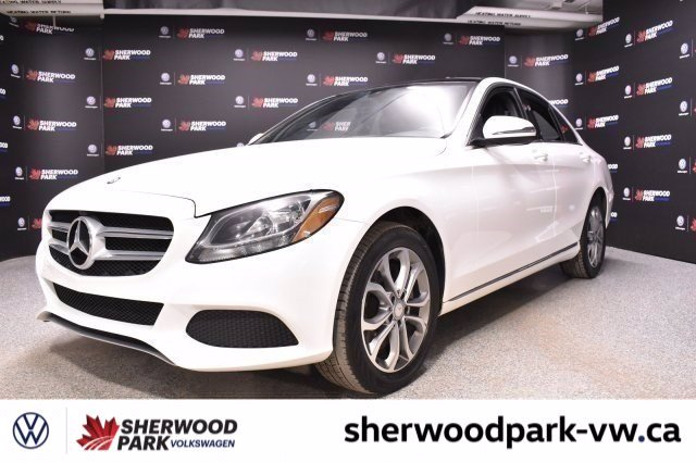 Pre-Owned 2016 Mercedes-Benz C-Class C 300 *Loaded, Leather, Luxury!!*