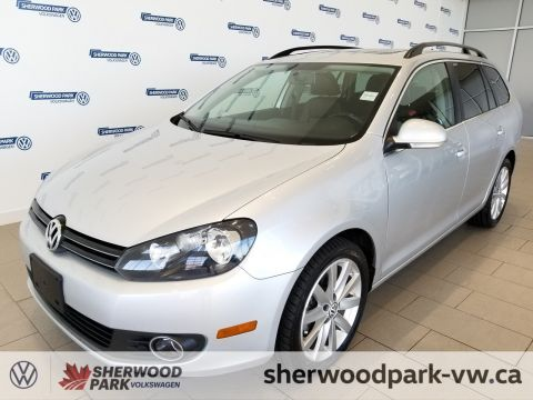 Certified Pre-Owned 2014 Volkswagen Golf Wagon Highline