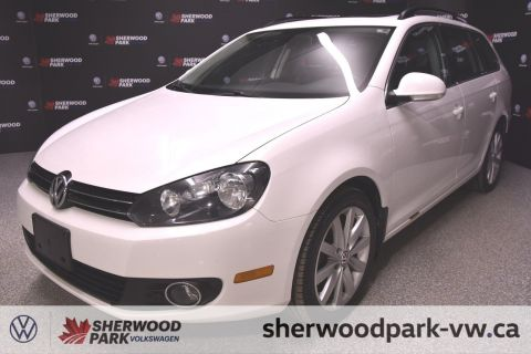 Pre-Owned 2013 Volkswagen Golf Wagon Highline