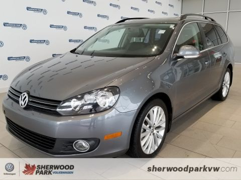 Pre-Owned 2014 Volkswagen Golf Wagon Wolfsburg Edition