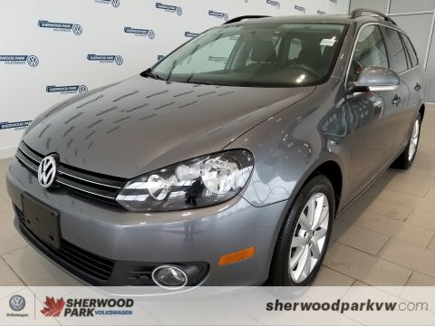 Certified Pre-Owned 2014 Volkswagen Golf Wagon Comfortline